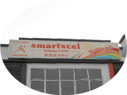 signboard signage light box making printing installation